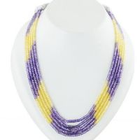 Shop for Beaded Necklaces Designs at Best Price.