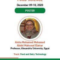 Nutrition and Food Science Webinar