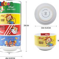 Kelloggs Breakfast Cereal Bowls for Kids
