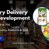 Grocery App Development Service Company - MacAndro
