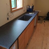 Best Quality Absolute Black Leather Kitchen Worktops at Low Price