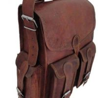 Handcrafted Vintage Leather Backpack