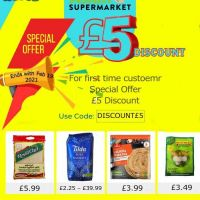 Special Offer for 1st-time customer get £5 discount