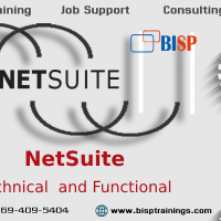 Oracle NetSuite Technical and Functional Online Training