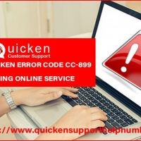 How to obtain solutions for Quicken error code cc-899?