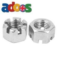 Hex Slotted Nuts   Castle Nuts   Slotted Nuts   DIC Fasteners