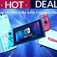 Top 10 Free Gifts with Contract Phones Deals | Mobile Phones Comparison