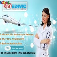 Quickly Avail the Finest Air Ambulance Service Delhi by Medivic Aviati