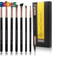 Rose Gold Eye Makeup Brush Set By Oscar Charles Beauty