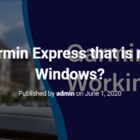 How to fix Garmin Express that is not working in Windows?