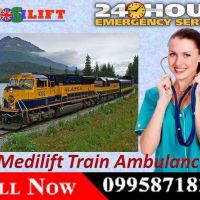 Book Medilift Train Ambulance in Bangalore with Complete ICU Facility