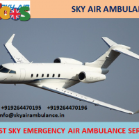 Quick Medical Support by Sky Air Ambulance Service in Jammu