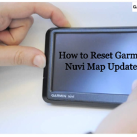 How to reset Garmin Nuvi Map Update?