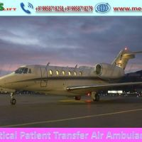Life-Support Ventilator Air Ambulance Service in Guwahati by Medilift