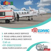 Avail ICU-Based Medivic Air Ambulance Service in Patna Anytime