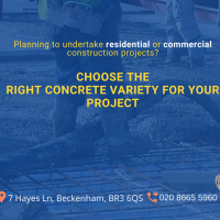 Choose The RightConcreteVariety For Your Project