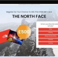 Get £500 to Spend at Northface!