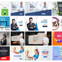 Design a stunning web banner for your business today