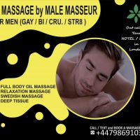 M4M★  PROFESSIONAL MASSAGE AT YOUR HOME/HOTEL IN LONDON