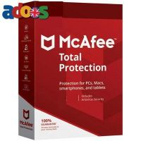 McAfee Total Protection – 1-Year / 10-Devices
