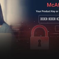 How to install and register a retail McAfee product