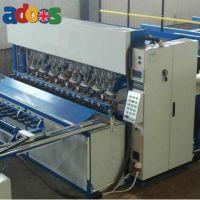 Welding machine for the production of reinforcing mesh, fences, gabion