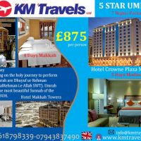 FIVE STAR UMRAH | KM TRAVELS LTD.
