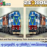 Get 24 Hrs Honestly Available for Falcon Emergency Train Ambulance fro