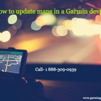 How to update maps in a Garmin device?