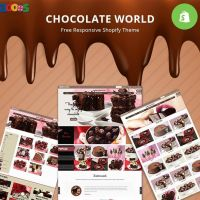 Candy Chocolate Shopify Theme
