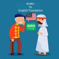 Certified arabic translation services