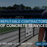 Trust Reputable Contractors Of Concrete Services