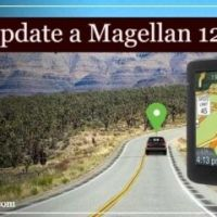 How to update a magellan 1200 gps?