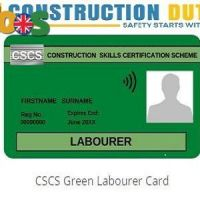 Get Your CSCS Green Card – Construction Duty