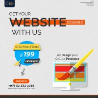 Get your Website Designed with us !!
