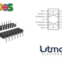 LM324N Operational Amplifiers