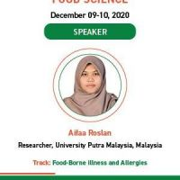 Nutrition and Food Science Webinar 2020