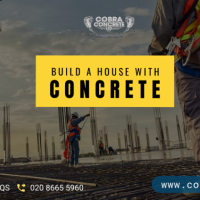 Build A House With Concrete Of The Highest Grade