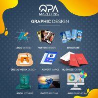 Graphic Design Service - Logos, Posters, Business Cards, Social Media Posts, Brochures, Ad Images, Infographics and more