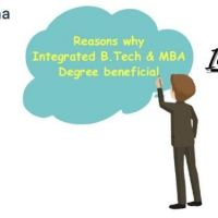 What is B.Tech and MBA Integrated Course?