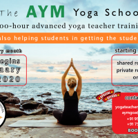 Yoga Alliance certified Yoga courses in Goa, India