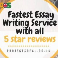 No.1 Fastest Dissertation / Essay Writing for 100% Grades
