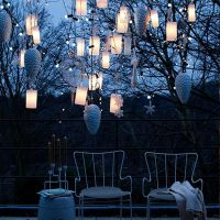 Your porch giving a warm glow with Hanging Outdoor Lights