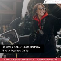 Pre Book a Cab or Taxi to Heathrow Airport- Heathrow Carrier