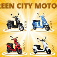 Electric vehicle showroom in Bangalore