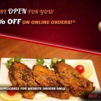 20% Discount On Online Orders