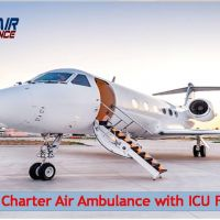 Hire Hi-Rated Emergency Air Ambulance Service in Gwalior at Low Budget