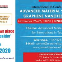 Nanotechnology E-Conference 2020