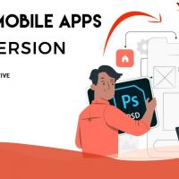 PSD to Mobile App Conversion