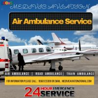 The Highly-Standard Air Ambulance Service in Darbhanga with Modern Sup